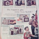 1956 Kodak Cameras Christmas ad #1