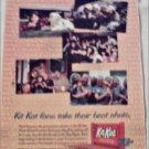 1997 Kit Kat Candy Bar ad