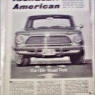 1962 American Motors Rambler American Road Test Article