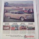 1962 American Motors Rambler Classic Six 400 4 dr sedan car ad