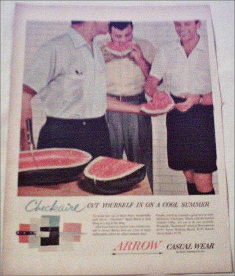 Arrow Checkaire Sports Shirts ad