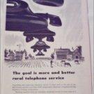 1948 Bell Telephone Goal ad