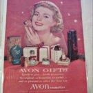 1957 Avon Cosmetics ad