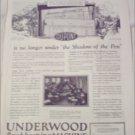 1923 Underwood Bookkeeping Machine ad