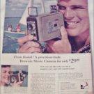 1957 Kodak Brownie Movie Camera ad