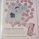 1959 Kraft Caramels ad