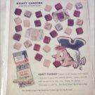 1959 Kraft Vanilla Fudgies ad