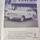 1962 Champion ad featuring Rambler American 400 2 dr sedan