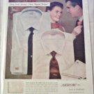 1956 Arrow Ripple Stripes Shirt ad