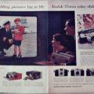 1958 Kodak 35 mm Color Slides Airline ad