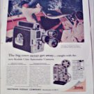 1959 Kodak Cine Automatic Turret Camera ad