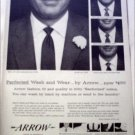 1958 Arrow Wash and Wear Shirt ad