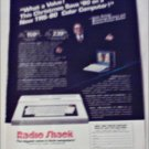 1984 Radio Shack TRS-80 Computer Christmas ad featuring Isaac Asimov