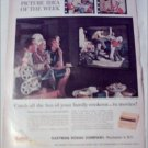 1960 Kodak Movies Cookout ad