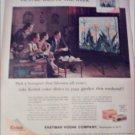 1960 Kodak Color Slides Flowers ad