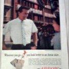 1960 Arrow Alpine Shirt ad