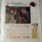 Consolidated Enamel Papers Illinois Central ad