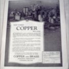1922 Copper and Brass Research Association ad