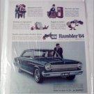1964 American Motors Rambler American 440-H 2 dr ht car ad