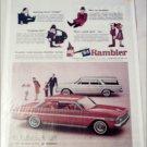 1964 American Motors Rambler Classic 770 2 dr ht & CC 4 dr stationwagon car ad