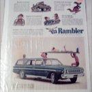 1964 American Motors Rambler Classic 770 CC 4 dr stationwagon car ad