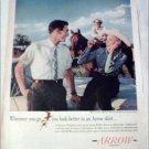 1960 Arrow Bi-Way Shirt ad