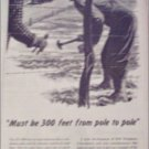 1951 Bell Telephone Pole to Pole ad