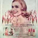 Avon Lipstick ad