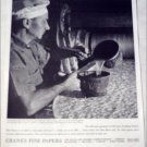 1951 Cranes Fine Papers 150th Anniversary ad