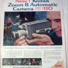1961 Kodak Zoom 8 Automatic Camera ad