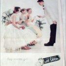 1960 PEP-O-MINT Lifesavers Girls ad
