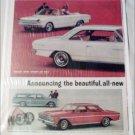 1964 American Motors Rambler American Lineup car ad