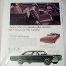 1965 American Motors Rambler Ambassador 990-H 2 dr ht car ad