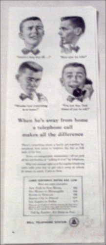 Bell Telephone Student ad