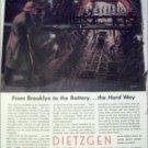 Dietzgen Company Brooklyn ad