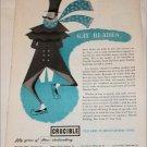 1950 Crucible Steel Company ad
