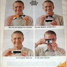 1963 Kodak Instamatic Camera Man ad