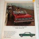 1965 American Motors Rambler American 440 convertible car ad