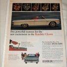 1965 American Motors Rambler Classic 770 convertible car ad #1