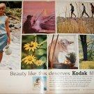 1964 Kodak Film Beauty ad