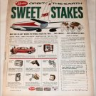 1963 Mars Sweet Stakes ad