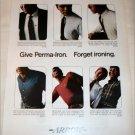Arrow Perma-Iron Shirt ad