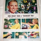 Frienship Tree Christmas ad featuring Bing Crosby