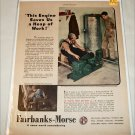1946 Fairbanks-Morse Z Engines ad