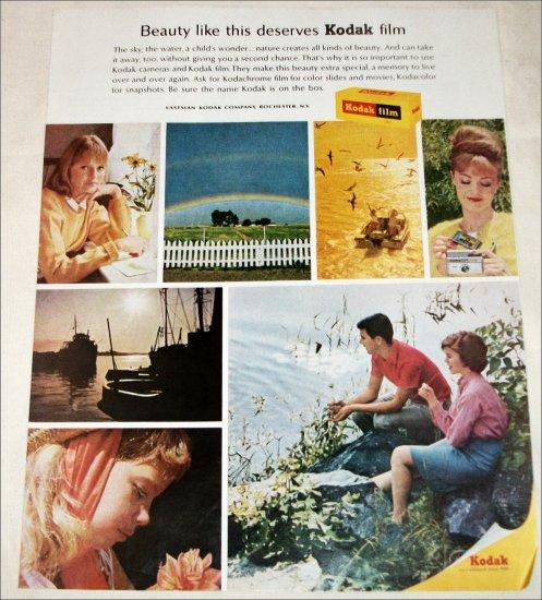 1965 Kodak Film Beauty ad