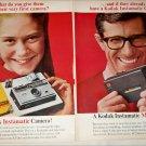 1966 Kodak Instamatic Cameras ad
