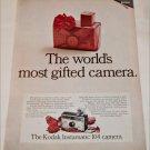 1967 Kodak Instamatic 104 Camera Christmas ad