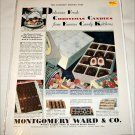 1929 Montgomery Ward Christmas Candy ad
