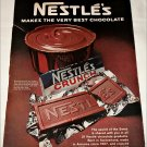 1967 Nestle's Crunch Candy Bar ad #1