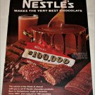 1968 Nestle's $100,000 Candy Bar ad
